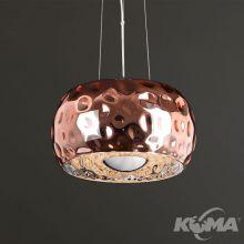 Energy lampa wisząca 6x60W G9 230V miedziana