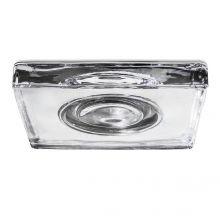 Eis oprawa wpuszczana łazienkowa 1x50W GU5.3 12V transparentna/chrom IP54