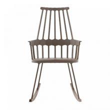 Comback krzeslo 58x100x58cm na biegunach orzechowy
