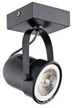 Retro reflektor 1x50W B15d ciemny brąz