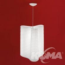 Hip S lampa wisząca 1x20W E27 230V biała