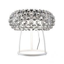 Acrylio lampa stołowa 1x100W R7s 230V transparentna/biała