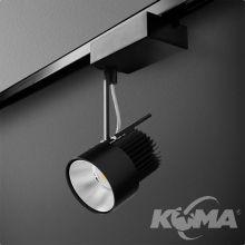 Reflektor na szynoprzewód 15.8W LED 230V czarny (mat) ciepła barwa CRI>80