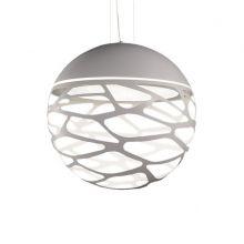 Lampa wisząca kelly biały matowa 4x60W E27