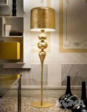 Eva lampa podlogowa złota 3x60W