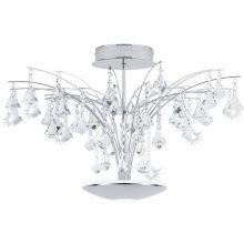 Miramas lampa sufitowa 16.8W LED + 6W LED 230V chrom