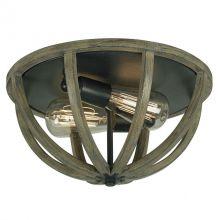 Allier plafon 2x60W E27 230V