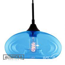 London lampa wisząca niebieska