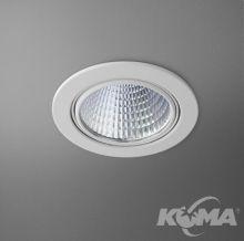 Eye oprawa wpuszczana łazienkowa 13,6W LED 230V biała