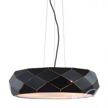 Reus lampa wisząca 3x36W E27 czarna