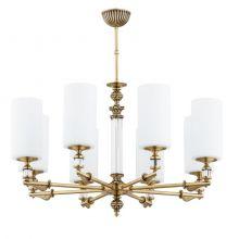 Merano lampa wisząca żyrandol patyna 8x40W e14