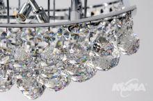 B681 plafon 6x60W G9 43cm krystaliczny