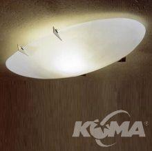 Surf plafon 200W R7s bialy klosz