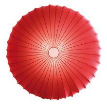 Muse plafon 1x60W E27 230V czerwony