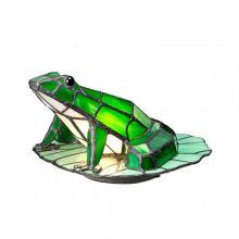Frog tiffany lampa stołowa 1x3W G9