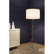 Signora lampa podłogowa biała 2x150W E27