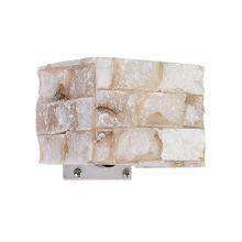 Carrara kinkiet 1x40W G9 14cm alabaster