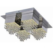 Amber plafon 24W LED 4000K 230V chrom