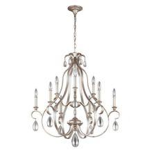 Dewitt żyrandol lampa wisząca 9x60W E14 230V srebrny
