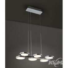 Porto lampa wisząca 270x0.1W LED 230V chrom