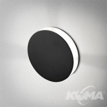 LEDPOINT oprawa schodowa wpuszczana kinkiet 4W LED230V czarny (mat)