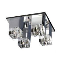 Box plafon 4x20W G4 12V transparentny