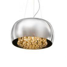 Burn lampa wisząca 50cm. 6x40W G9 230V chrom