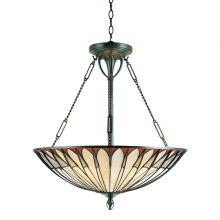 Alahambre lampa wisząca 4x100W E27 antyczny brąz