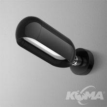 Equilibra kinkiet 8W LED 230V czarny (połysk) neutralna barwa CRI>80