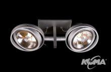 Optique D21 oprawa stropowa G53 2x50W C03 - biały 12V