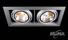 Optique r2 oprawa stropowa halogen 2x50W QR111/12V