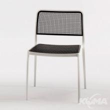 Audrey krzeslo 52x80x51cm bialy-czarny