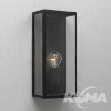 MESSINA kinkiet 1x60W E27 czarny/przezroczysty