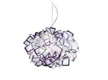 CLIZIA oprawa wisząca 2x20W E27 d53cm purple