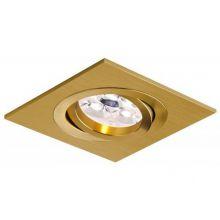Mini Catli lampa wpuszczana 1x50W GU10 230V złota