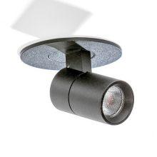 Lina reflektor wpuszczany 2W LED 3000K 230V czarny