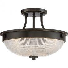 Mantle lampa sufitowa plafon 2x60W E27 230V brązowy