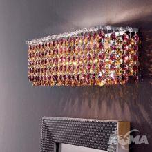 Aurea kinkiet 2xg9/40W kryształy
