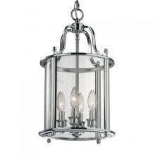 New york lampa wisząca chrom 4x60W E14