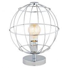Kamerun lampa stołowa 1x60W E27 230V chrom