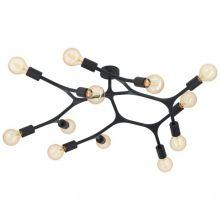 Bocadella lampa wisząca czarna 12x60W E27
