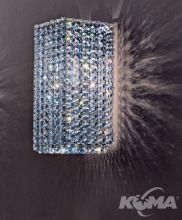 Aurea kinkiet E27/60W krystal
