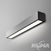 Set Aluline kinkiet 143cm. 31W LED 230V czarny (mat)