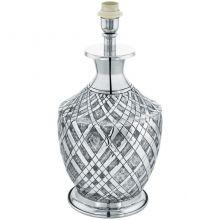 Saltash lampa stołowa 1x60W E27 230V srebrna/chrom