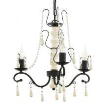 Chattisham lampa wisząca 44,5cm 3x40W E14 230V brąz/biel