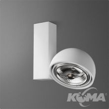 Glob reflektor biały (mat) 1x50W AR111 230V