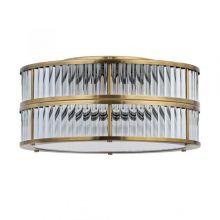 Lavone plafon sufitowy podwójny patyna śr 44cm 6x40W E14