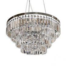 Salerno żyrandol lampa wisząca/plafon 5x40W G9 230V transparentna