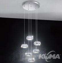 Corliano lampa wisząca 6x5W