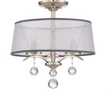 Whitney żyrandol 3x40W E14 kryształowe elementy